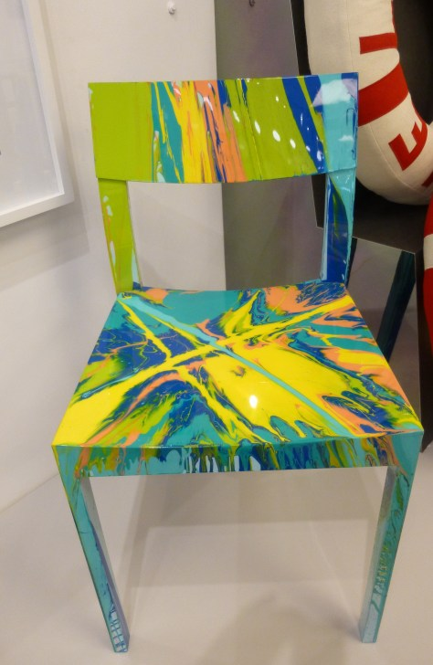 Damien Hirst Spin Chair