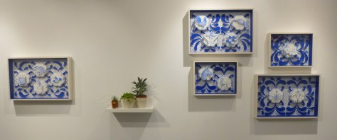 Installation View with Cactus