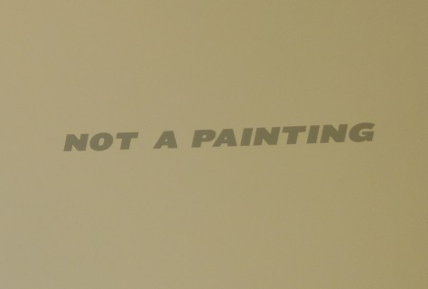 Not a Painting Signage