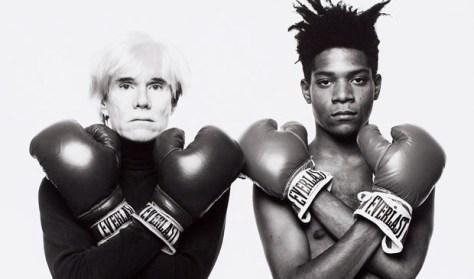 Warhol and Basquiat