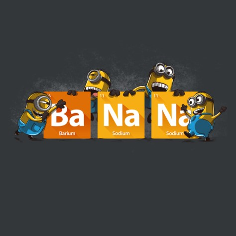 Minion BaNaNa Shirt