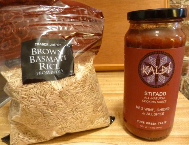 Kaldi Sauce and Bag of Rice