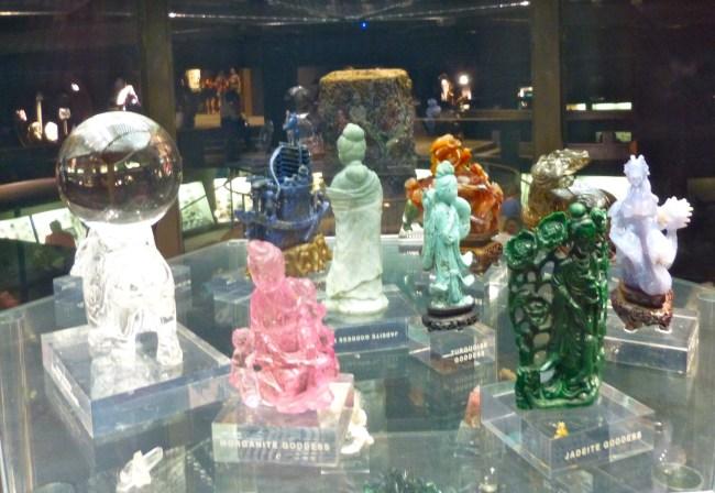 Gemstone Sculptures