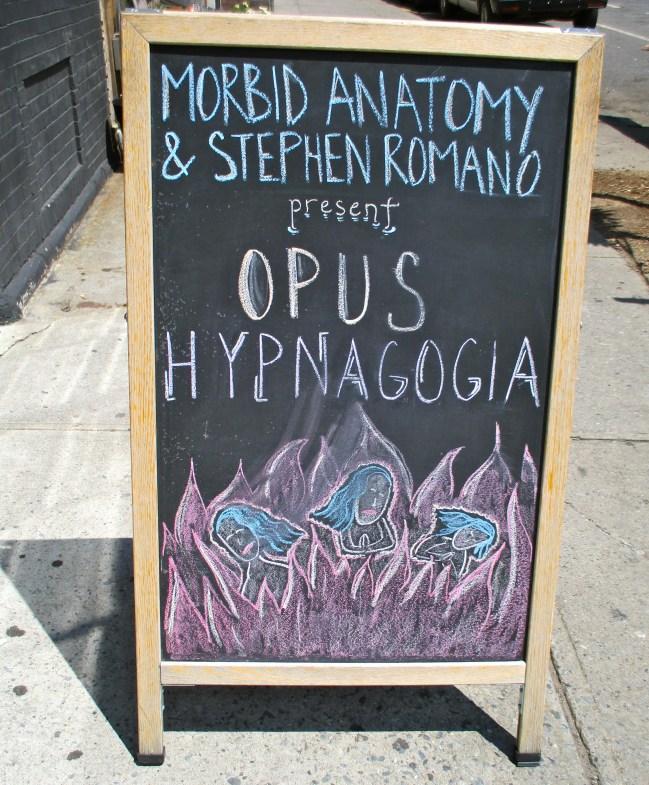 Opus Hypnogogia Signage
