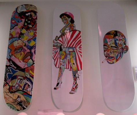 Skate Decks by Cacho Falcon