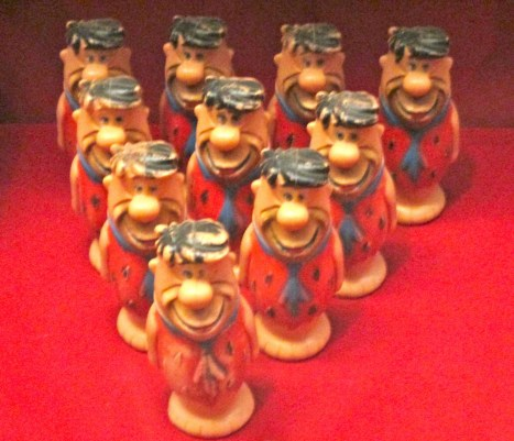 Fred Flintstone Bowling Pins