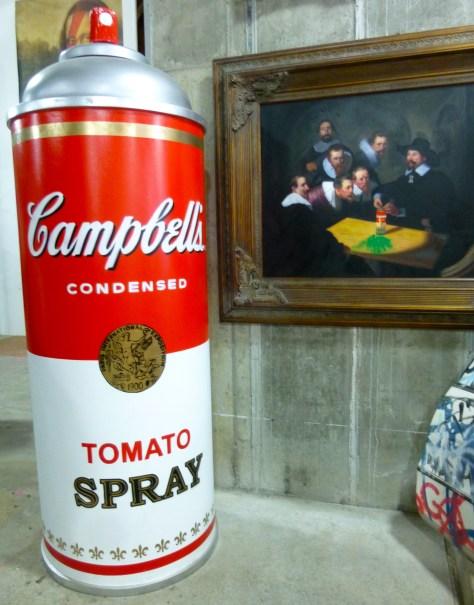Tomato Spray Can