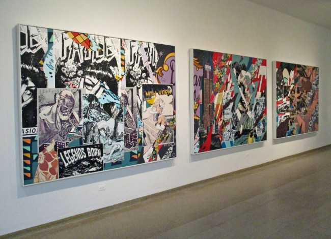 Faile Paintings Trio