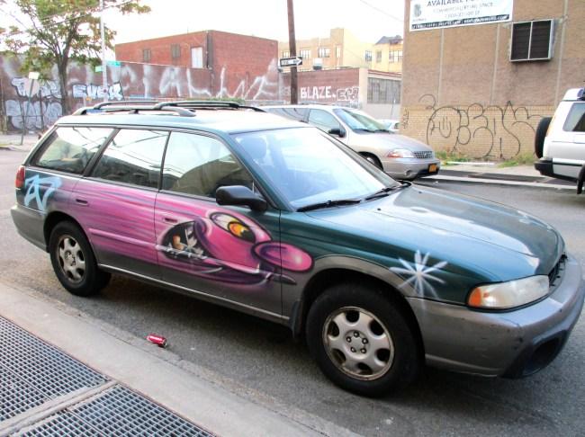 Kenny Scharf Car 2