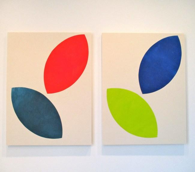 Sarah Crowner, Untitled Leaves, 2015