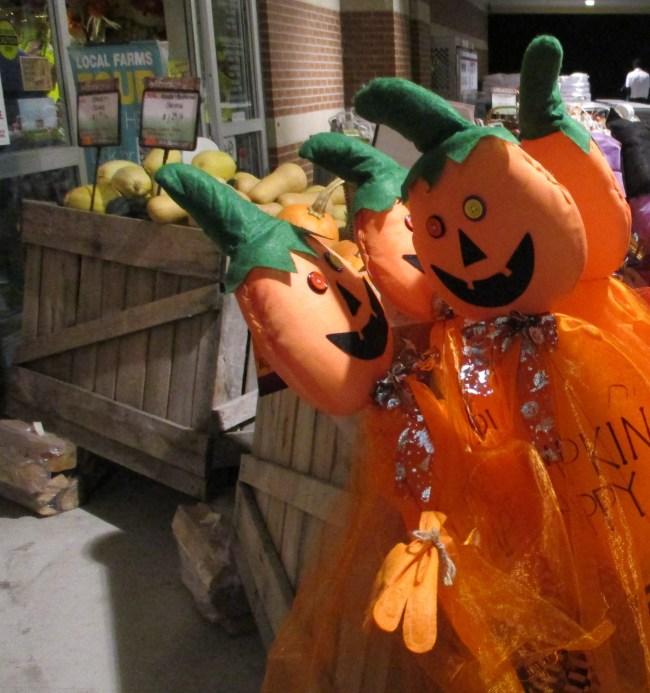 Pumpkins on Sticks
