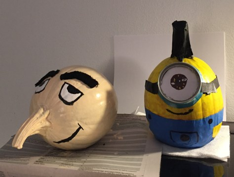 Despicable Me Pumpkins