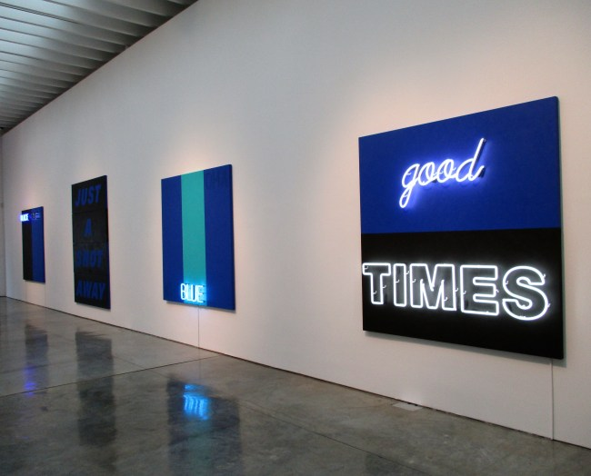 Good Times Installation View