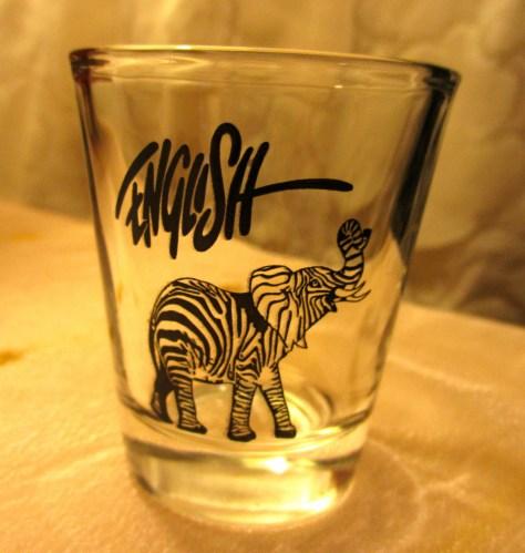 Ron English Shot Glass