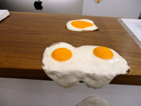 Eggs on the Ledge