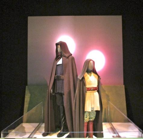 Luke and Anakin