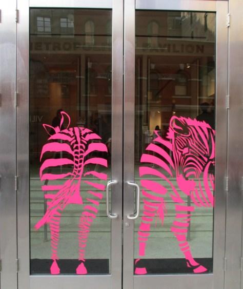 Pink Zebra Butts