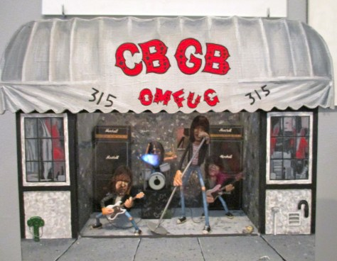 Ramones CBGB Diorama