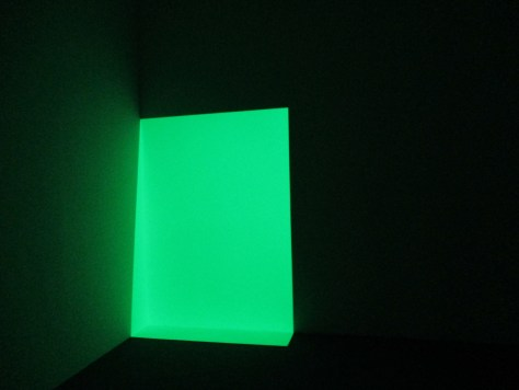 James Turrell's Green Thing