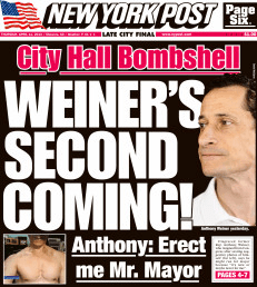 Weiner Post Cover
