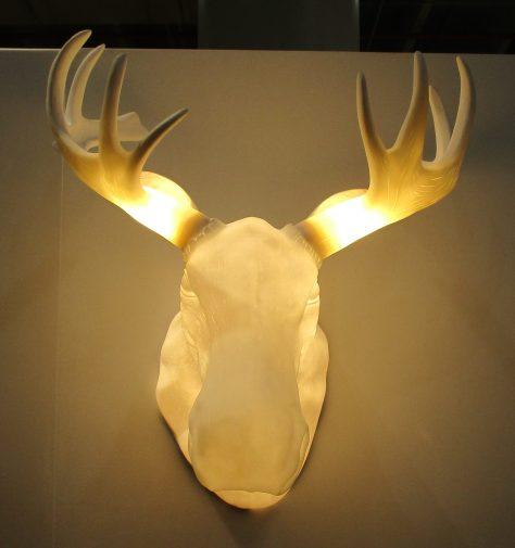 Moose Head Lamp