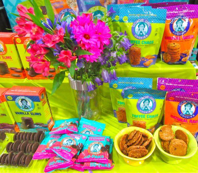 Goodie Girl Cookie Display