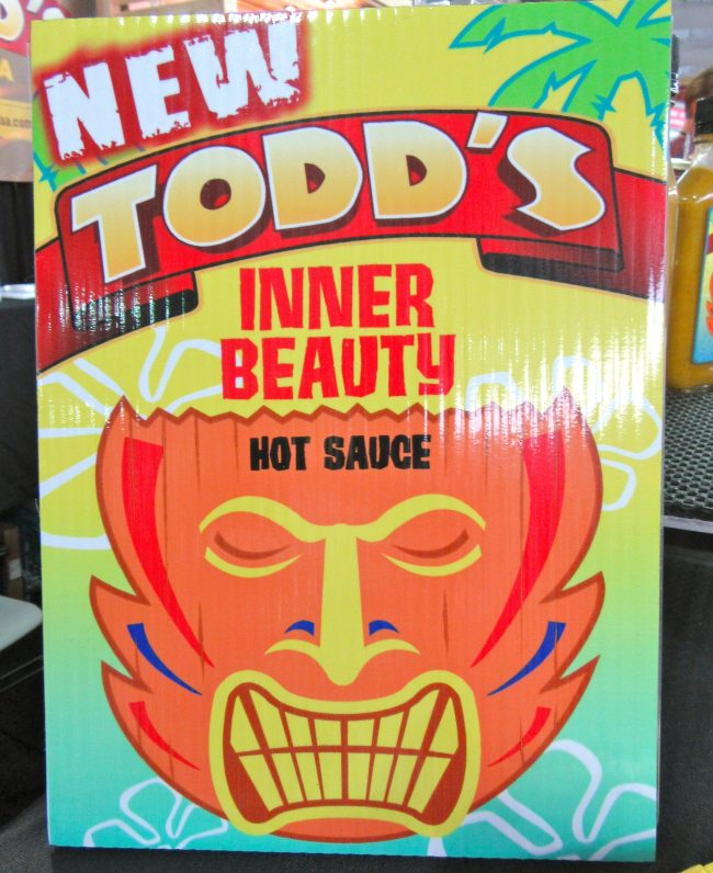 Todds Inner Beauty Sauce Signage