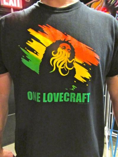 Bob Marley / Cthulhu Mash Up T-Shirt