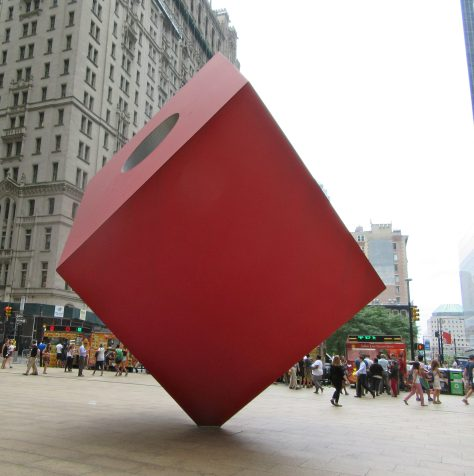 Red Cube 3