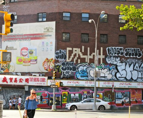 Greetings from Chinatown Mural
