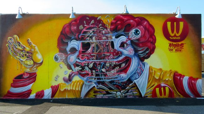 Art Wall By Nychos