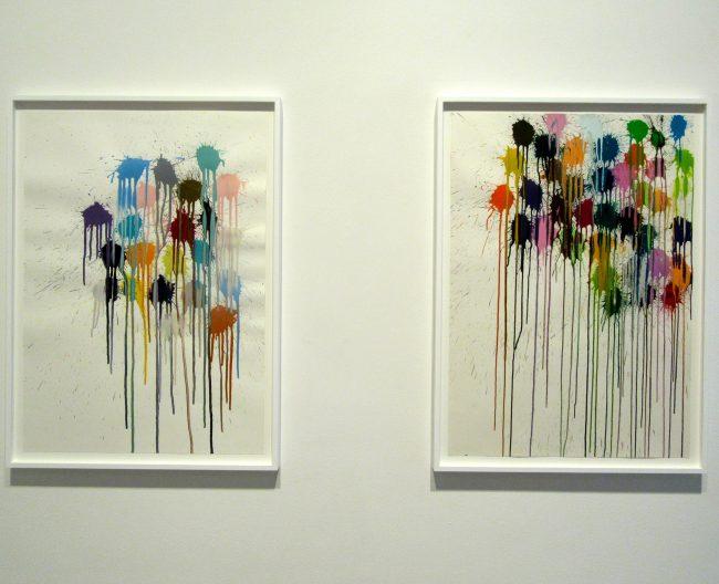 Splat Paintings