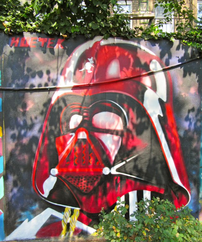 Darth Vader Mural