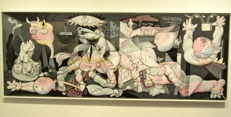Fat Food Guernica
