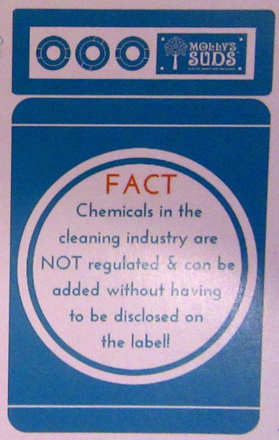 Mollys Suds Label