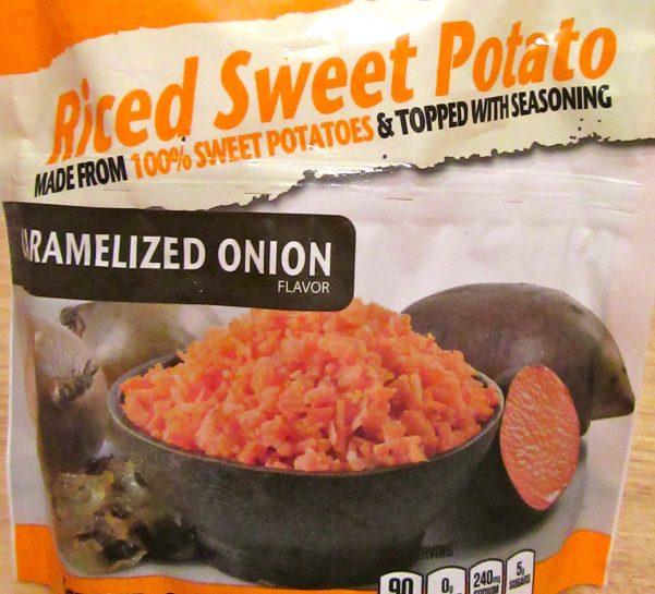 Riced Sweet Potato