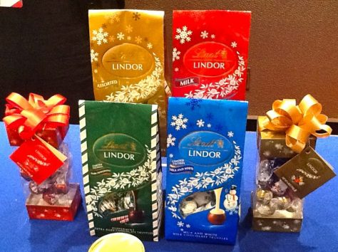 Lindor Holiday Truffes