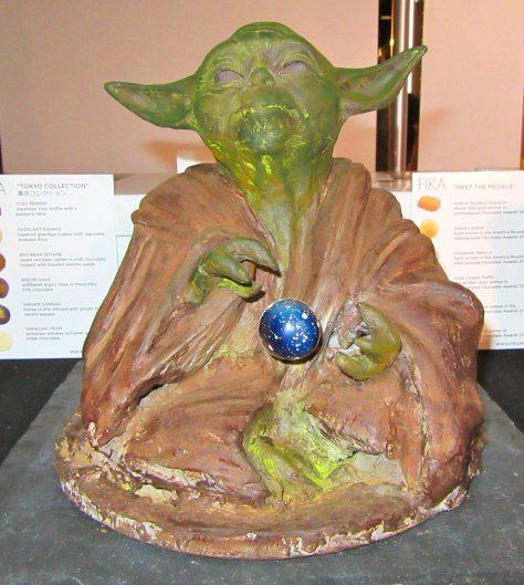 Chocolate Yoda