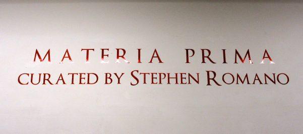 Materia Prima Signage
