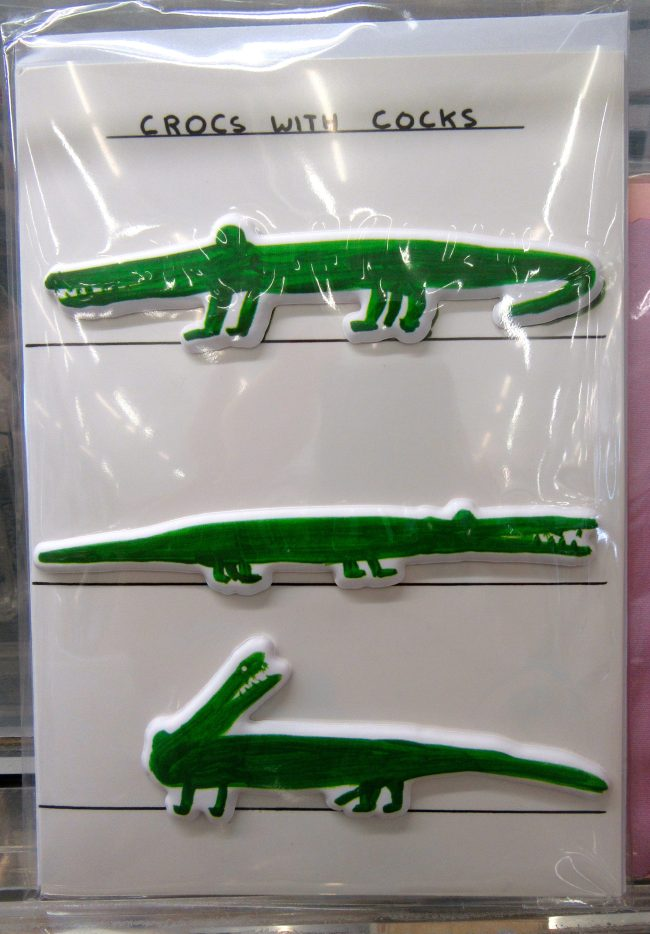Crocs With Cocks