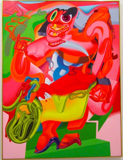 De Kooning's Woman with Bicycle