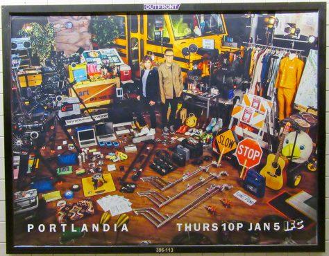 Portlandia Subway Ad