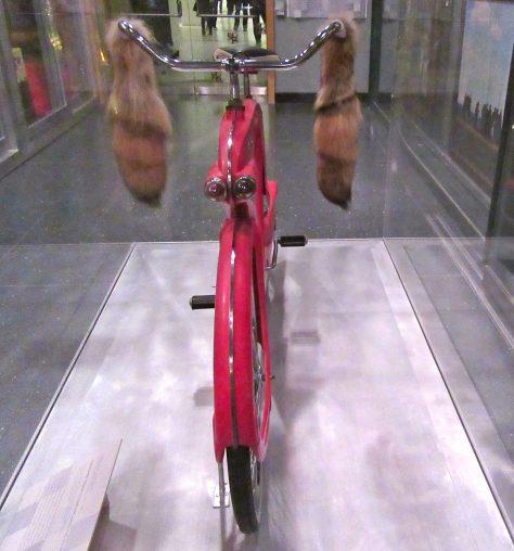 Spacelander Bicycle Rear View