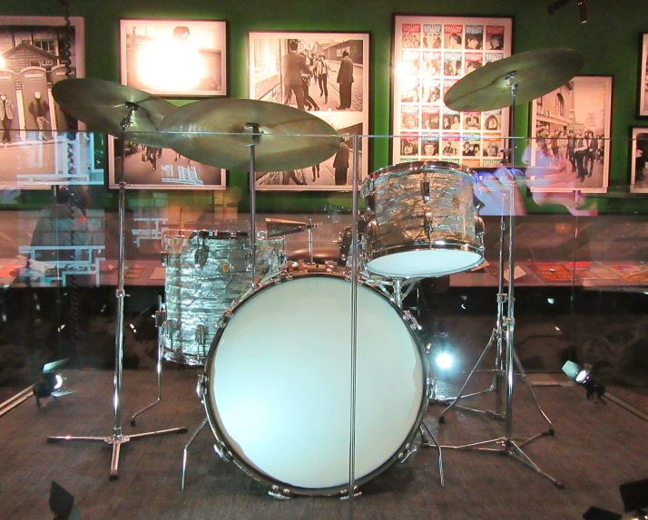 Charlie Watts Drumkit Front