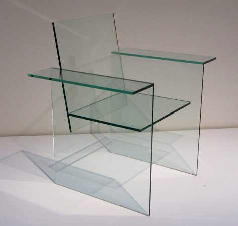 Glass Armchair