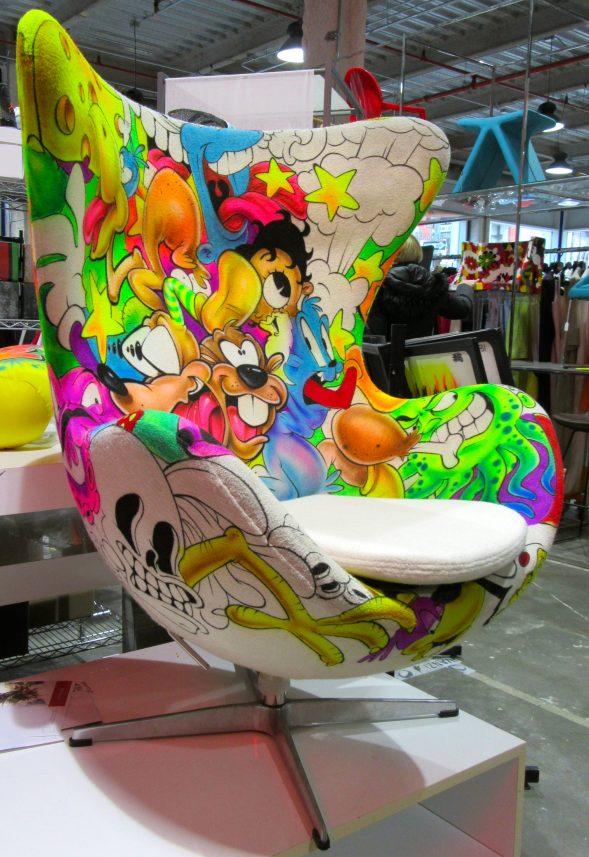 Cartoon Character Midcentury Chair