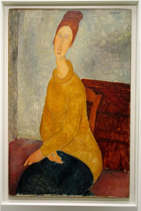 Jeanne Hebuterne with Yellow Sweater