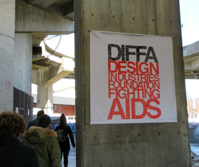 DIFFA Signage