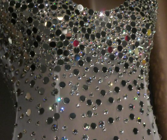 Tina Turner Dress Detail