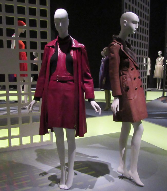 Pierre Cardin Coat and Pinafore Dress